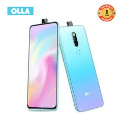 "OLLA NOTE3 Phones Pop-up Camera Smart Phone 4GB RAM +64GB ROM 6.53""FHD Breathing Crysta"