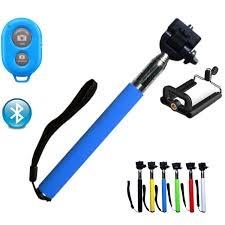 Universal Selfie Stick Bluetooth Extendable Stick Handheld Monopod Blue Universal Size Monopod Universal Stick