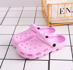 New-style crocs Water Paradise Slippers Summer Beach Slippers woman Pink 38