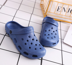 New-style crocs Water Paradise Slippers Summer Beach Slippers Man Blue 42
