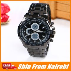 Mens Fashion Casual Military Quartz Sports Wristwatch Full Steel  Men's Watches type3 one size