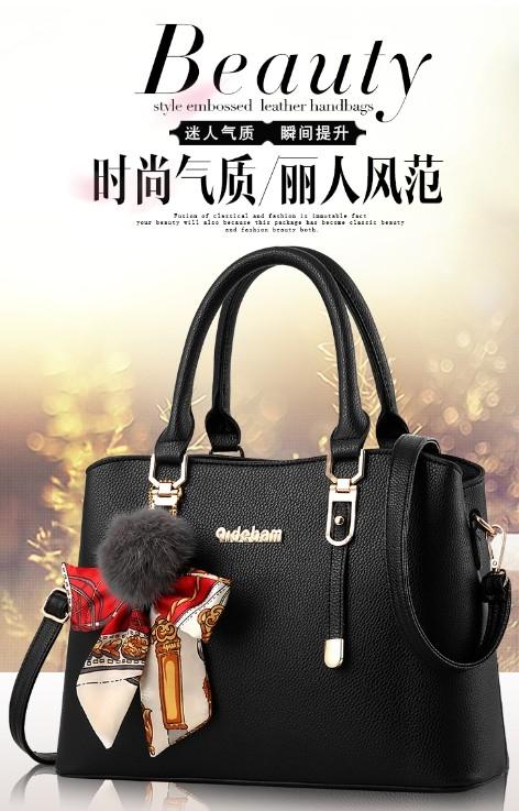 2264d78127dc Package 2017 new Korean ladies atmosphere simple simple handbag large bag  handbags shoulder bag Messenger bag fashion handbags. image image ...