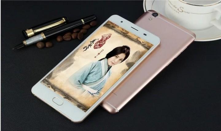 5.0 inch thin smart eight-core mobile phone 13 million pixel mobile Unicom 4G gold