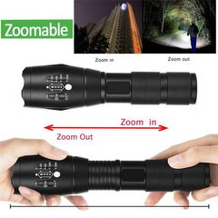 LED Flashlight T6  torch Waterproof Outdoor Camping  strong Led Flashlight AS PICTURE AS PICTURE