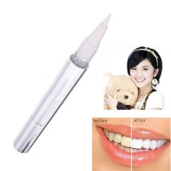 Popular Teeth Whitening Pen tooth Clean White pen Tooth Gel Whitener Remove Stains oral hygiene Silver