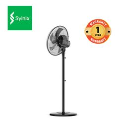 Syinix 16 inch 2 IN 1 Electric Standing Fan FAN16N-508 Black