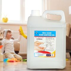 Real clean sanitizer 5 Liters transparent