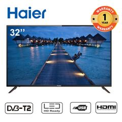 (Anniversary Special Offer) Haier 32 Inch Television LED HD DIGITAL TV black 32''