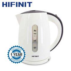 Hifinit 360°rotational plastic kettle,HFKE-1799A,220-240V/1.7L,white white