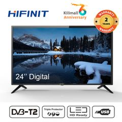 (Anniversary Special Offer) Hifinit By Haier 24 Inch Television  LED HD DIGITAL TV black 24''