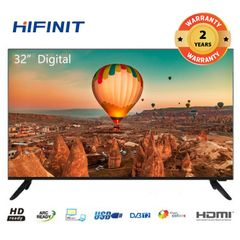(New arrive)Hifinit by Haier 32 inch Frameless Digital LED TV LE32H6500 black 32 inch