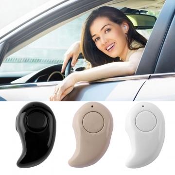 2015 Mini Wireless Bluetooth Stereo In-Ear Earphone Headphone Headset Earpiece Black
