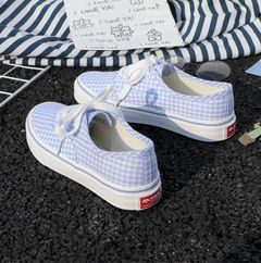 Espadrilles New board shoes women's canvas shoes female students low to help simple casual  girl blue 39