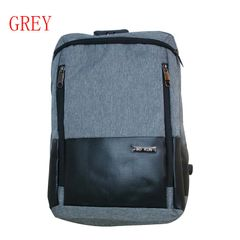 10-1 backpack 18 Inch Anti Theft Backpacks Men Travel Backpack Laptop Waterproof School Bags grey one size