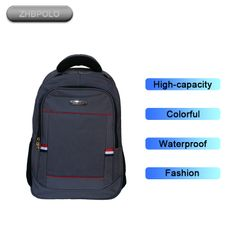 D18-4 backpack 18 Inch Men/Women Fashion School Business Travel Backpack black 18 inch