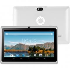 Artizlee 7'' Tablet ATL-16 Color ( Quad Core, HD 1024x600, 8GB, WIFI, Bluetooth, Double-CAM) ATL-16 White