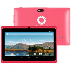 Artizlee 7inch Tablet ATL-16 Color Pink ( Quad Core, HD 1024x600, 8GB, WIFI, Bluetooth, Double-CAM) ATL-16 Pink