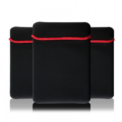 "10"" Dustproof Waterproof Laptop Sleeve Notebook Computer Bags Tablet PC Protective Liner Sleeve black 10 inch"