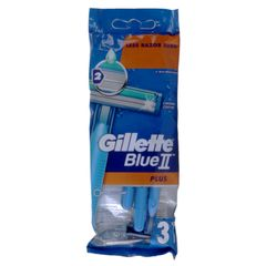 Gillette Blue II Plus Disposable 3's as picure as picure