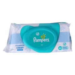 Pampers 64Pcs  Baby Wipes  Fresh Clean Wipes as picture