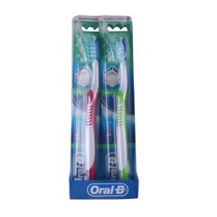 Oral B  1PCS Advantage 3D Fresh Value Pack 2 CT Toothbrush 40 as picture