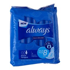 Always Normal Maxi Thick  Extra Long 7 pads as picture