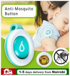 Mosquito Repellent Button Safe for Infants Baby Kids Buckle Indoor Outdoor Anti-mosquito Sales 1pcs/set*random color 40*35mm