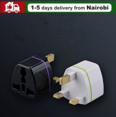 UK Standard Plug Power Adapter Travel universal Wall Charge Socket Power Plug Attaching Plug Sales white