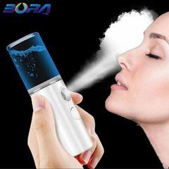 Facial Steamer Skin Moisturizing Face Steamer Facial Sprayer Face Humidifier Skin Care white
