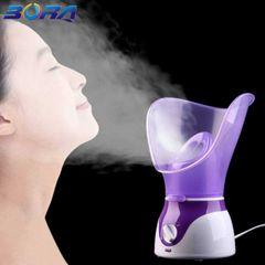Facial Steamer Skin Moisturizing Face Steamer Facial Sprayer Face Humidifier Beauty Skin Care purple
