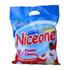Niceone 1Kg  Washing Powder Less Powder More Power as picture 1kg