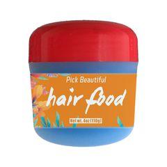 PICK BEAUTIFUL Hair Food Hair Conditioner 4oz (110g) Blue 4oz