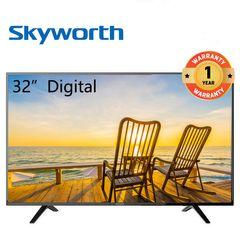 Skyworth 32WH3 32 Inch Digital TV LED TV black 32 inch