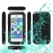 Waterproof Shockproof Dustproof Gorilla Glass Aluminum Metal Case for iPhone 5S 5C 5 SE Black One Size