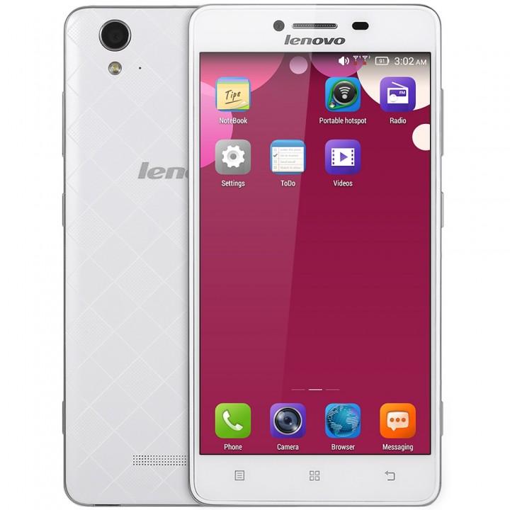 Lenovo A858W 5.0 inch HD Screen 4G Smartphone Quad Core 1GB RAM 8GB ROM Bluetooth 4.0 GPS OTG white