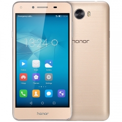 HUAWEI Honor 5 5.0 inch 4G SmartphoneQuad Core 1.3GHz 2GB RAM 16GB ROM Easy Key Bluetooth 4.0 golden