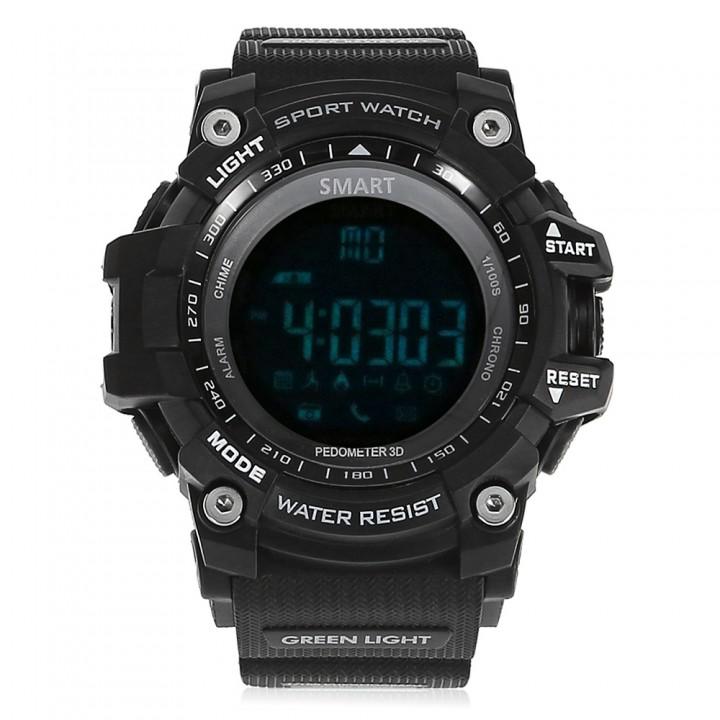 AIWATCH XWATCH Sport Smart Watch Pedometer Stopwatch Call Message Reminder black one size