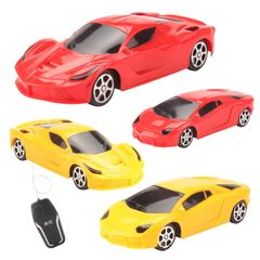 Electric Mini RC Cars Collection Remote Control Toys Radio Controlled Cars Toys For Boys Random one size