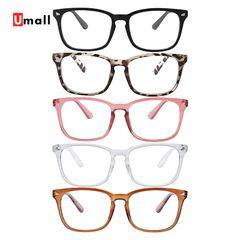 1PC Spectacle Optical Frame Clear Lens Vintage Computer Anti-Radiation Eyeglasses Eyewear Frames Black