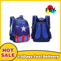 2020 Black Friday Children's Backpack Boys Captain America School Bags For Boys Girls Children Superhero Backpacks