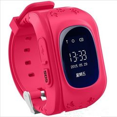 2021 High quality GPS Smart Kid Safe smart Watch SOS Call Location Finder Locator Tracker pink One size
