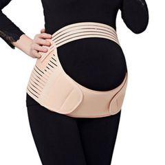 Pregnant Women Waist Care Belt Abdomen Support Belly Band Brace Body Support skin xl