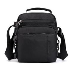 2021 New Year gift Men's Messenger Bag High Quality male Handbags Nylon man Shoulder Bag Casual Black one size