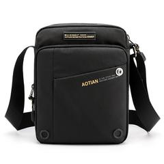 2021 New Year gift Brand Men Messenger Bag High Quality Waterproof Nylon man Shoulder Bag Black normal