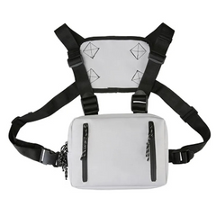 2021 New Year gift Men Waist Bag functional Tactical Chest Mobile Phone Bags Male Casual Pack