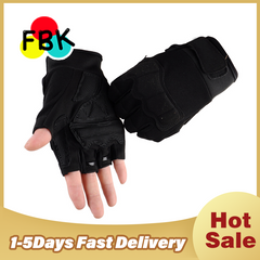 Fitness Weight Lifting Gym Gloves Training Fitness bodybuilding Workout Wrist Wrap Exercise Glove black m