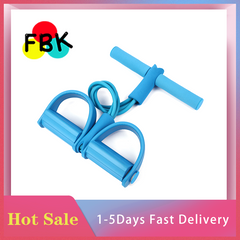 Hot sale Elastic Rope Exerciser Resistance Band Fitness Equipment Exerciser Equipments Gym Training BLUE normal
