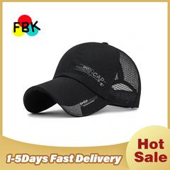 Summer Baseball Caps Men Mesh Caps Breathable Unisex Snapback Hat Outdoor Hip-Hop Bone Gorras Cap black
