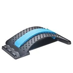 2021 New Year gift Hot sale Stretch Equipment Massager Magic Stretcher Fitness Relaxation Spine blue as picture