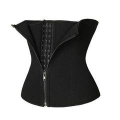 Hot sale Body Shaper Waist Trainer Belt Women Postpartum Belly Slimming  Shapewear Tummy Fitness m black